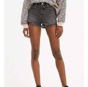 Levi's 501 High Rise Button Fly Shorts